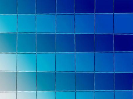 Glass texture glass gradation blue