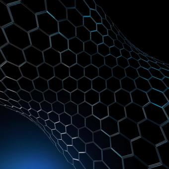 Cleared _ Hexagon material