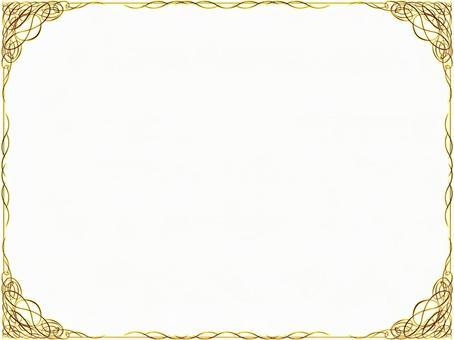 Gold frame flame frame 28052905