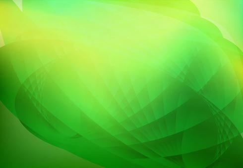 Green wave gradient background material texture