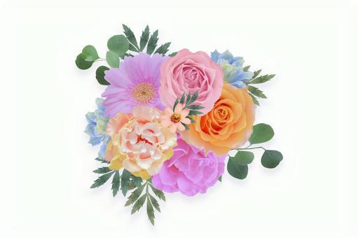Pink bouquet texture (PSD)