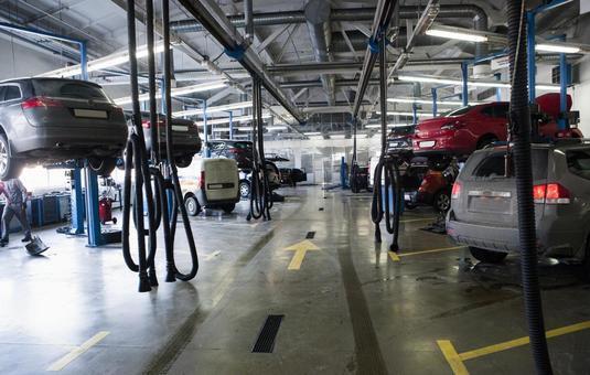 Automatic vehicle preparation workshop 3
