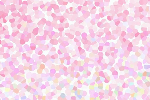 Stained glass · pink