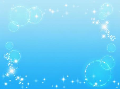 Glittering light flare and bubble background pattern material_c_01