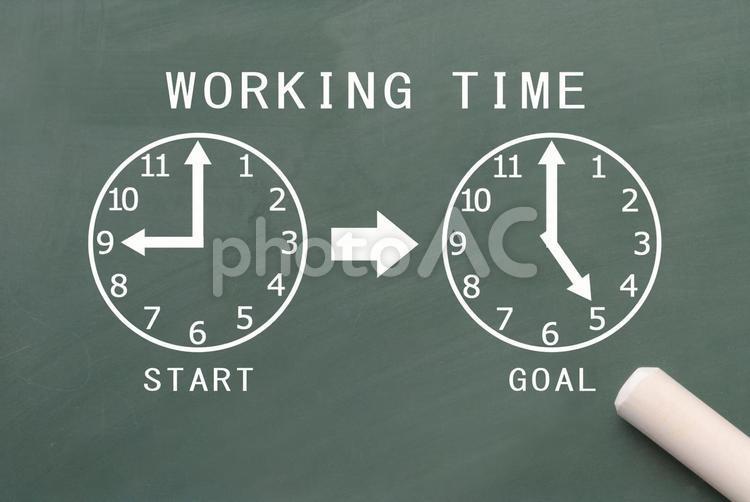 労働時間のイメージの写真