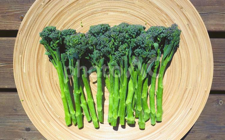 茎ブロッコリーの写真