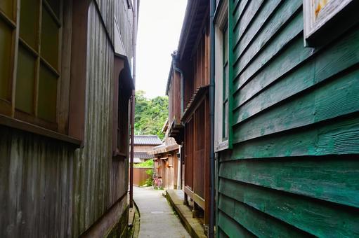Back alley of Shukunegi