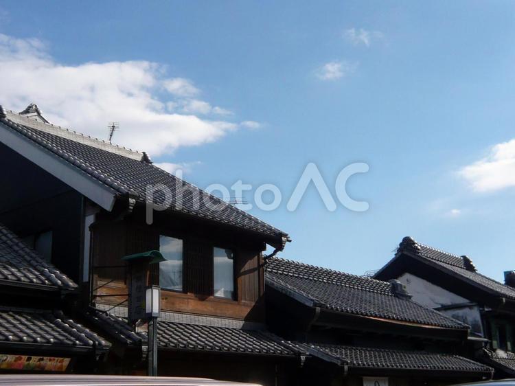 川越 屋根の写真