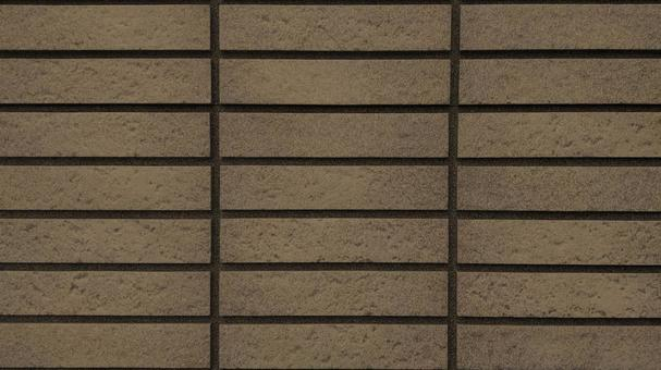Brown tile outer wall