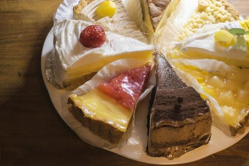 Assorted cakes and tarts