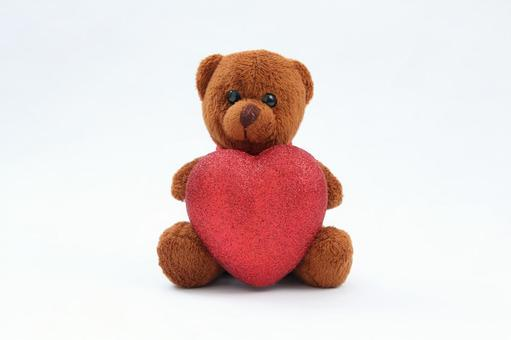 Valentine's Tete Bear and Chocolate 1