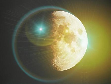 Moon / glowing moon