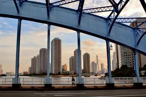 고층 빌딩의 풍경