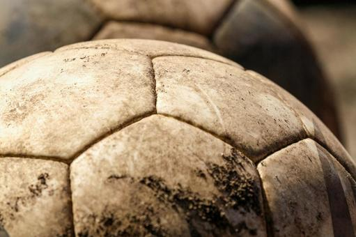 Youth and soccer ball