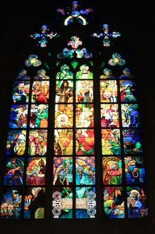 Stained glass (Czech Republic)