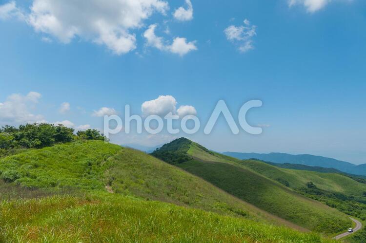 高原の休日の写真