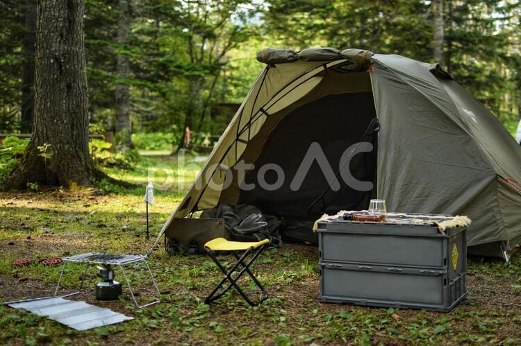 林間キャンプ場の写真
