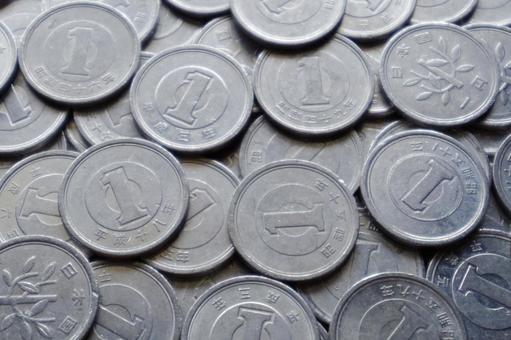 1 yen coin dodder