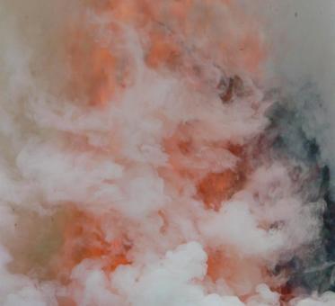 불길과 연기