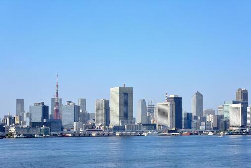 도쿄의 빌딩