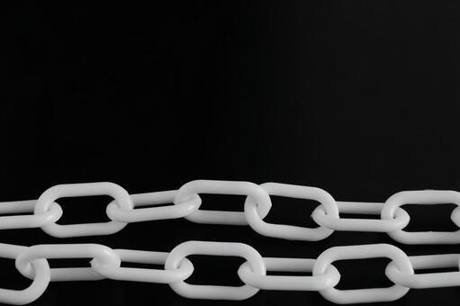 鏈黑色和白色