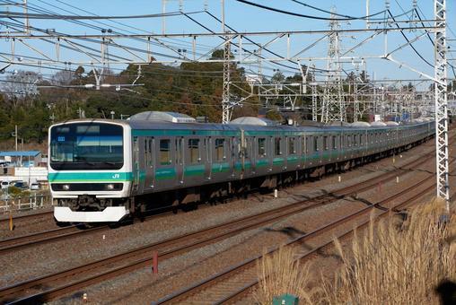 조반 선 쾌속 전철 E231 계
