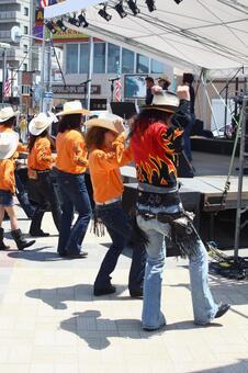 Western, dancing riding horse club