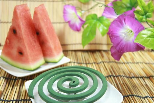 Summer tradition Mosquito coil Suka Asagao