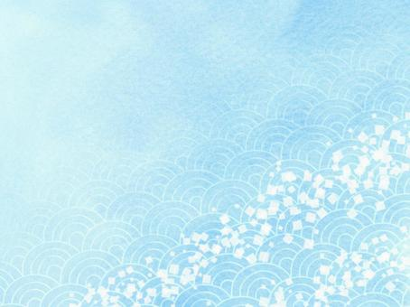 Japanese pattern background material texture