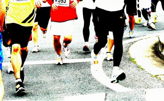 Marathon posterization