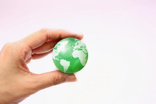 手与地球6