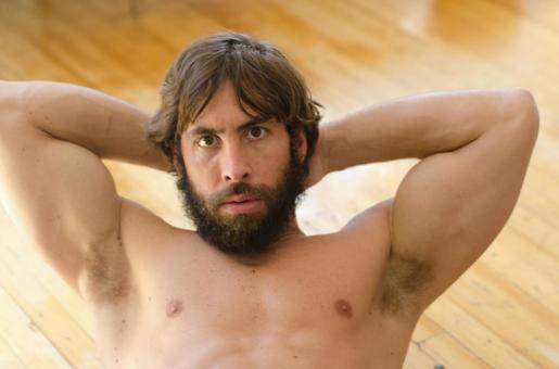Caucasian male fitness model 71