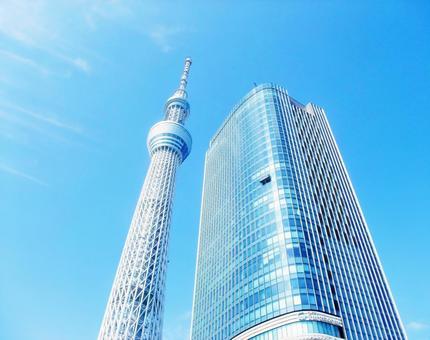 東京天空樹和東塔