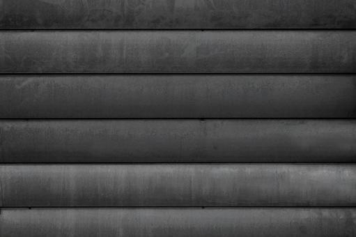 검은 판금 벽 배경 소재 _ 둥근 금속판 텍스처