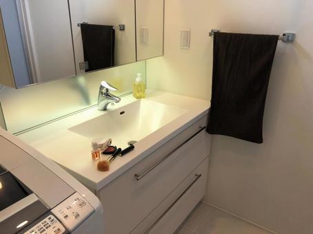 Washbasin and cosmetics