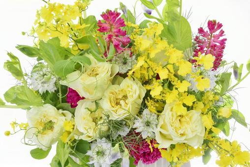 Bright spring image Flower arrangement