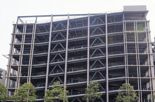 Yokohama parking building