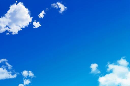 맑게 개인 푸른 하늘