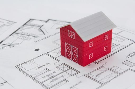 집의 모형 그림자 38