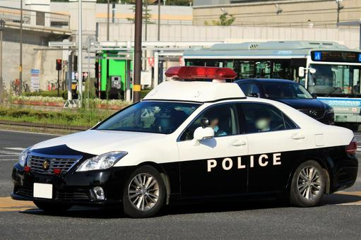 Image of police car