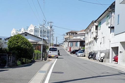 나가사키 거리 풍경