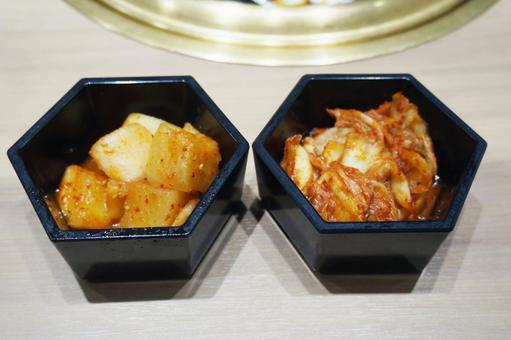 大白菜泡菜和kakuteki