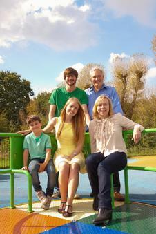 Three generations of the park family 1