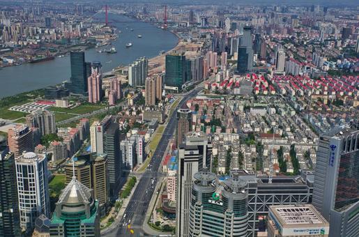 도시의 풍경 상하이