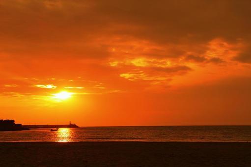 Sea _ sunset viewing 0005