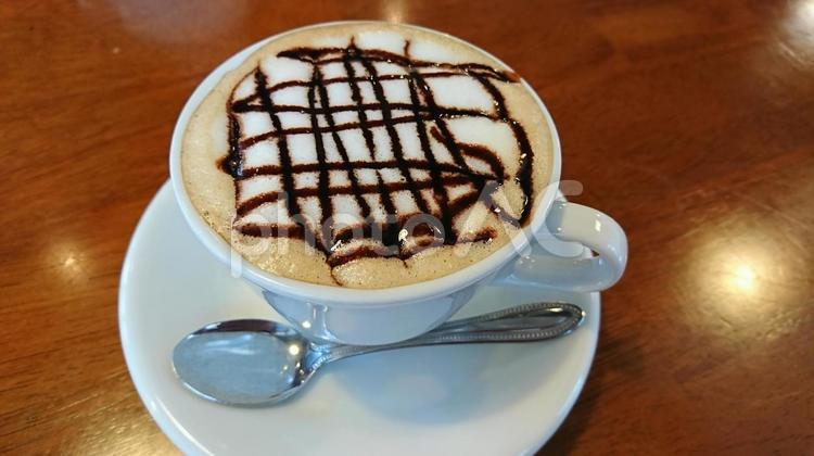 友人とカフェで一息の写真