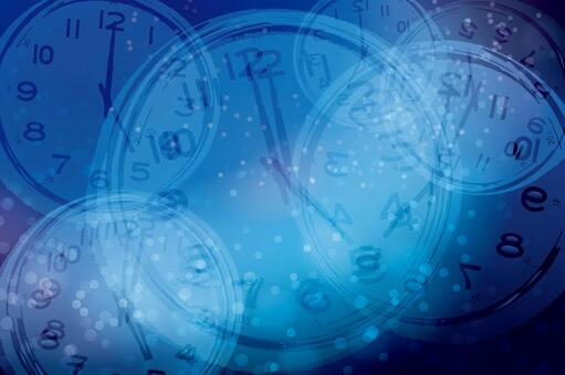 Time management abstract background texture-blue