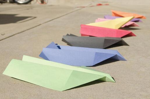 Paper flying machine 49