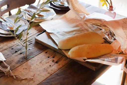 갓 구운 빵