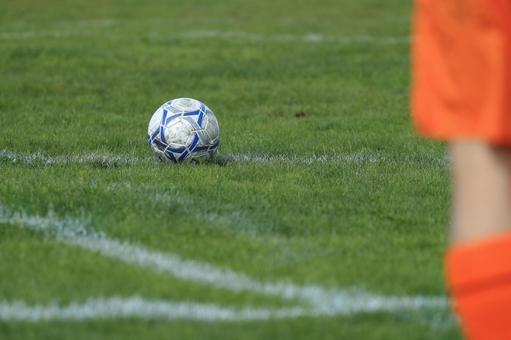 Soccer ball pitch